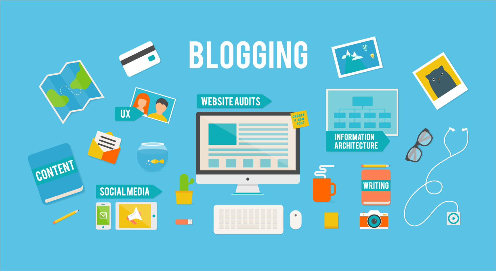 blog blogging marketing