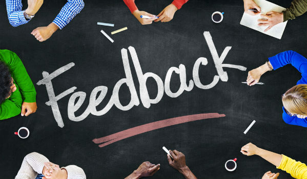 feedback blog blogging