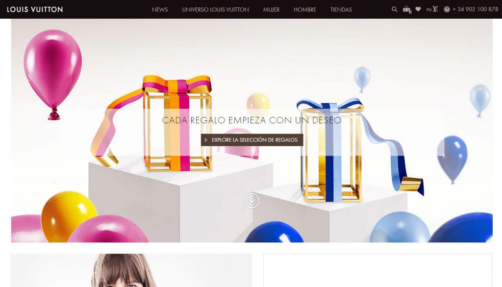 7 tendencias UI en eCommerce para 2015 -louis vuitton