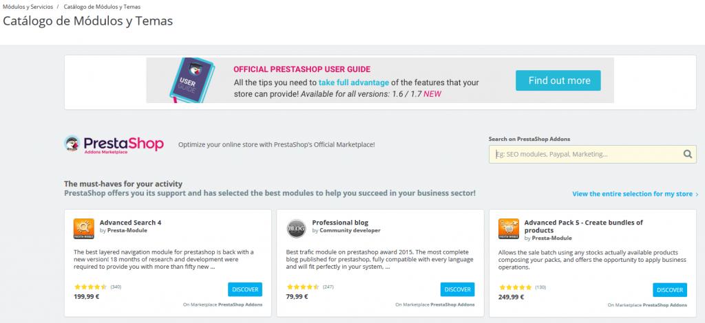 5 razones por las que elegir Prestashop para tu tienda online