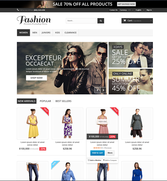 prestashop-default-design