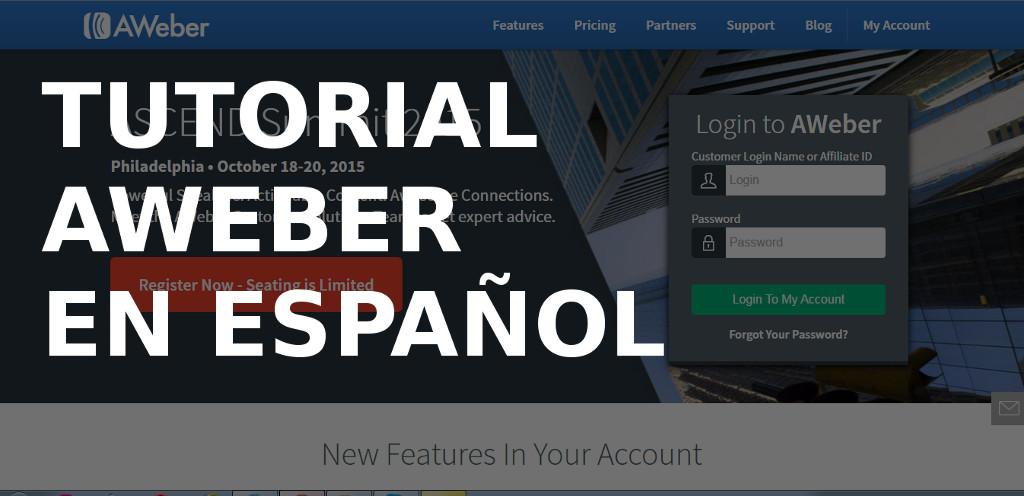 Tutorial Aweber en Español - Email Marketing