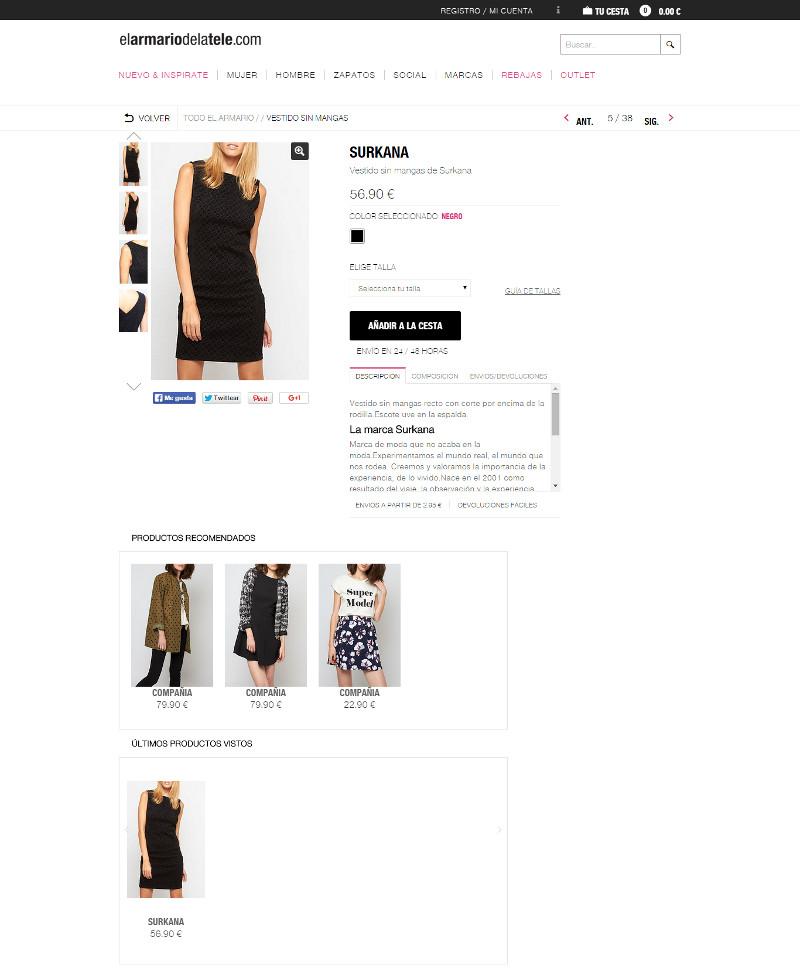 Como crear una ficha de producto perfecta para tu tienda online - el armario de la tele