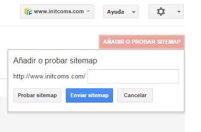 Google Search Console - Tutorial principiantes - Anadir Probar sitemap 2
