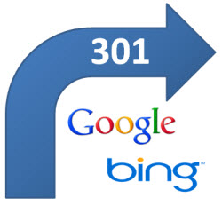 google-bing-301-redirects