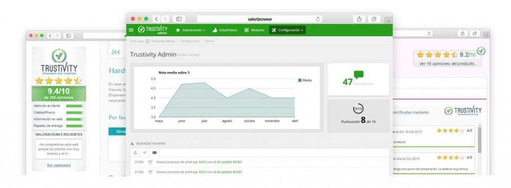 Opiniones y valoraciones de clientes en Prestashop - Recomendaciones - Trustivity