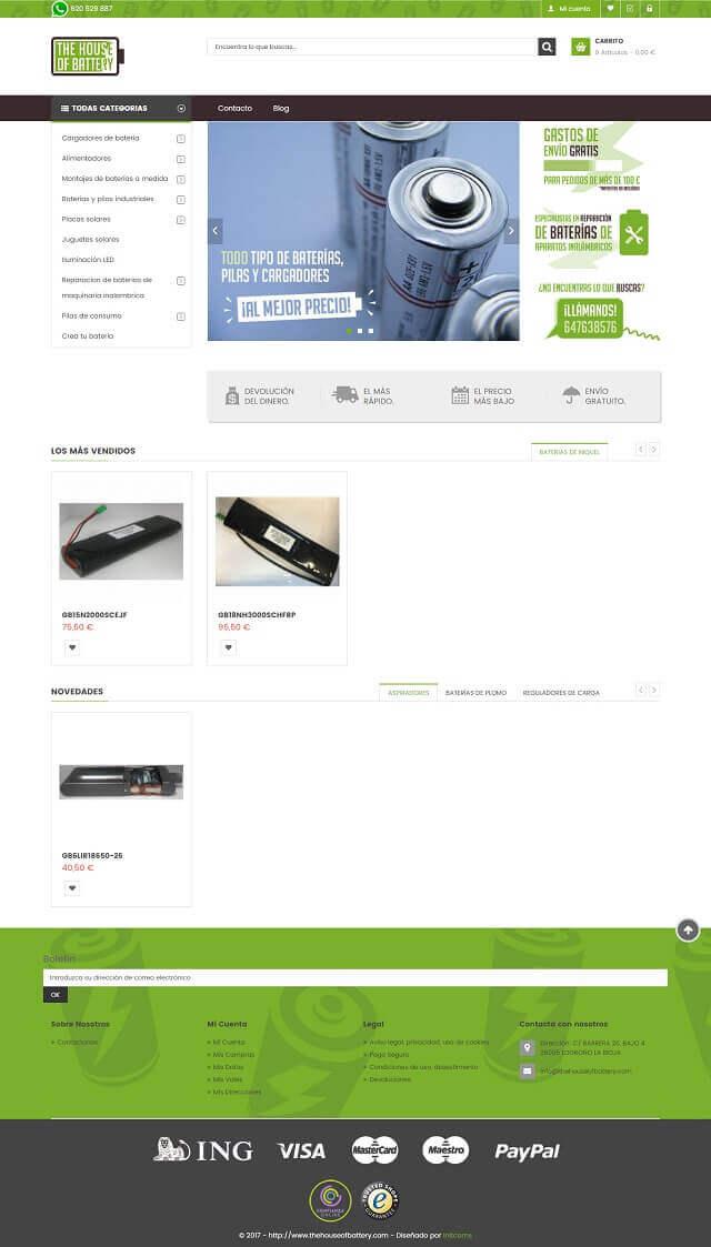 tiendas online hechas con prstashop