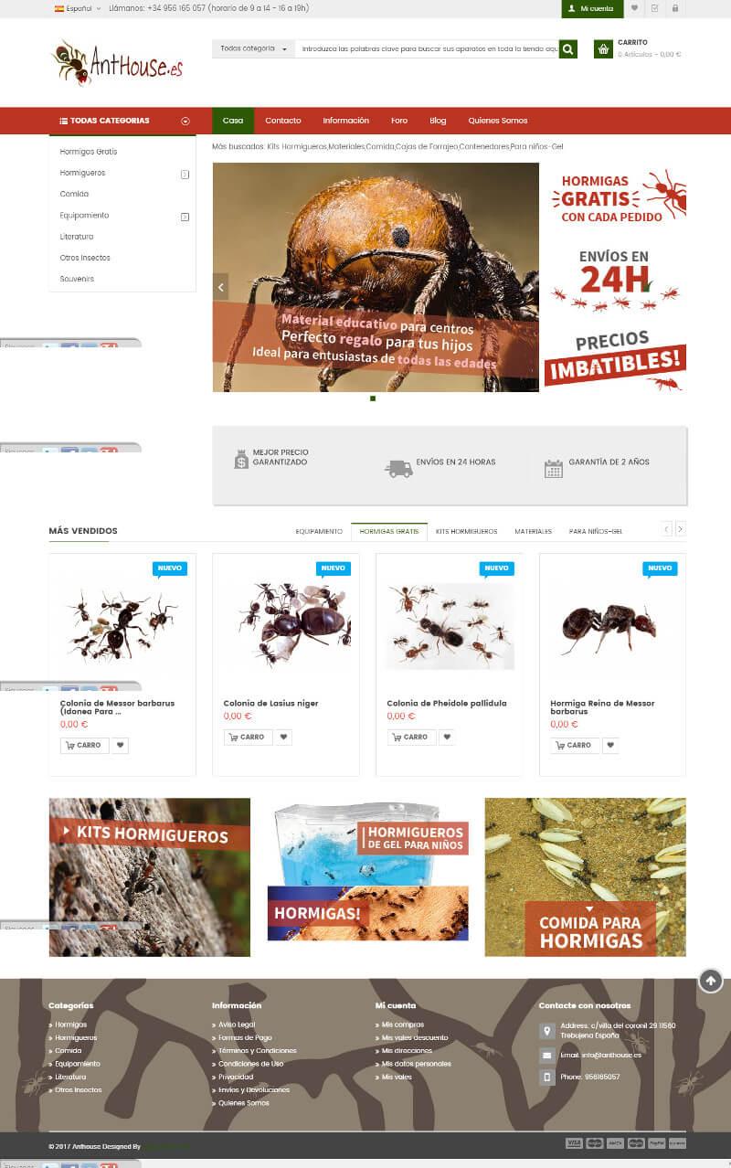 tiendas online prestashop ejemplos