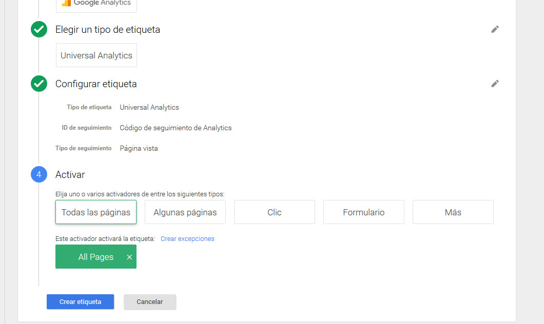 Google Tag Manager Prestashop Analytics5