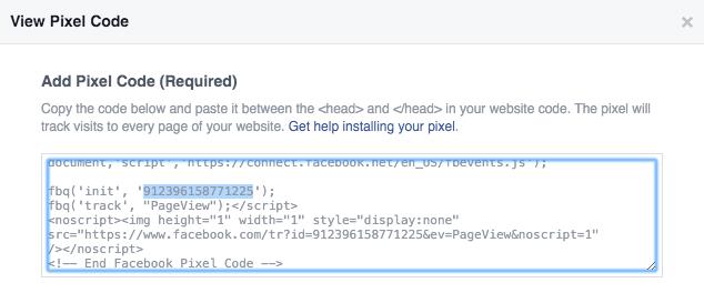 pixel-código-facebook