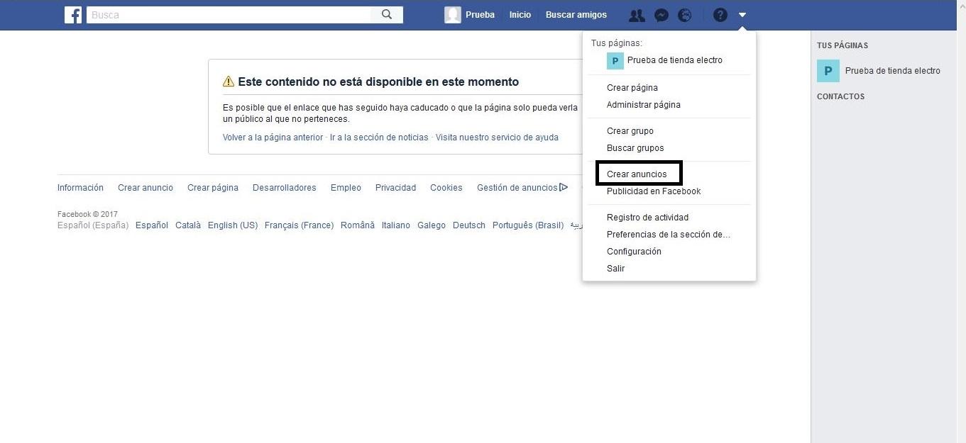 Cómo hacer remarketing en Facebook