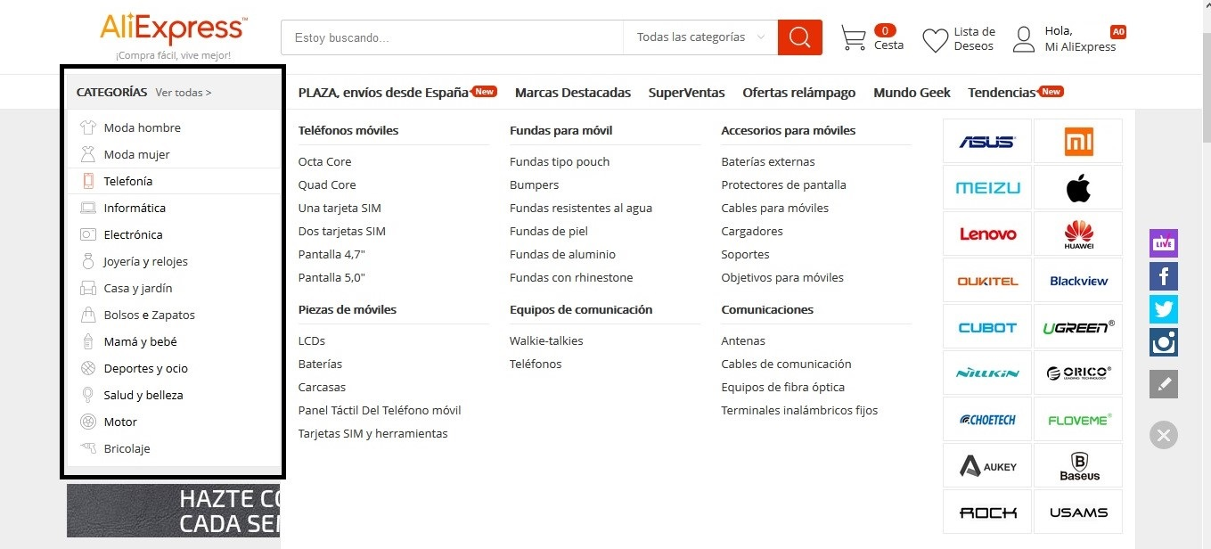 Como hacer DropShipping con AliExpress