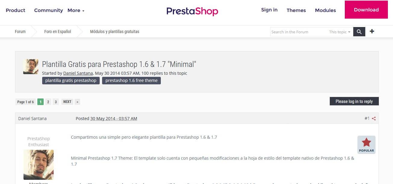 Plantillas Prestashop Gratis - Themes Prestashop