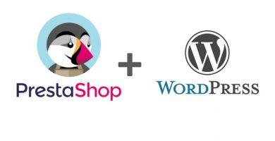 integracion wordpress prestashop