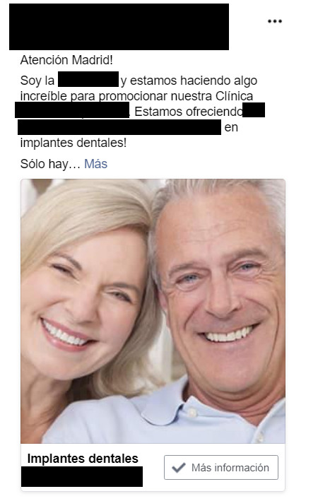 conseguir clientes clinica dental