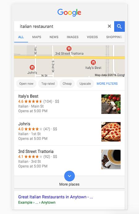 seo local restaurante
