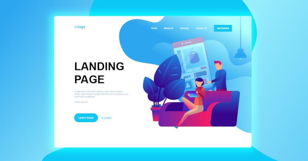 presupuesto landing page